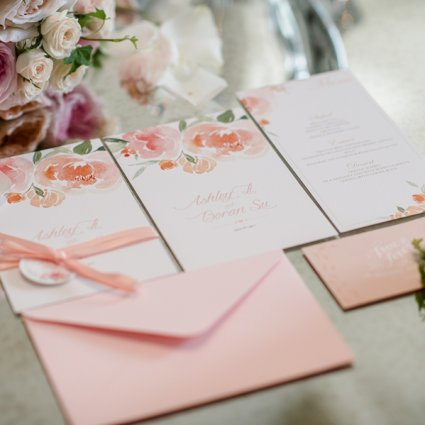 O Weddings and Events featured in Ashley and Boran's Lush Wedding at The Guild Inn Estate