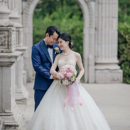 Weddings by Ardenian featured in Ashley and Boran's Lush Wedding at The Guild Inn Estate