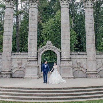 Ashley and Boran's Lush Wedding at The Guild Inn Estate