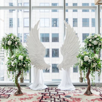 O Weddings and Events featured in Olivia and Ben's Enchanting Wedding at the Shangri-La Hotel