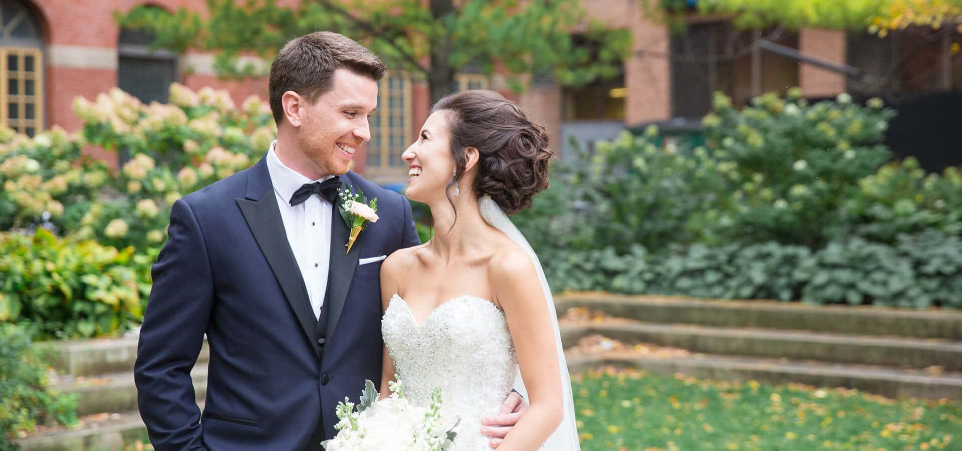Hero image for Stephanie & Jordan's Intimate Wedding at The Rosewater Room