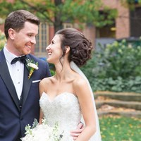 Stephanie and Jordan's Intimate Wedding at The Rosewater Room