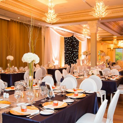 O.M.G. Events featured in Stephanie & Jordan's Intimate Wedding at The Rosewater Room