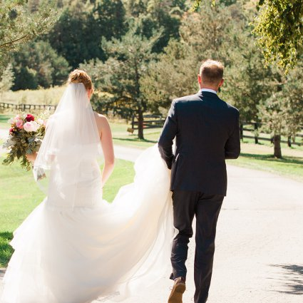 Haley Photography featured in Kalie & Jon's Rustic Wedding at Rainbow Valley Wedding Barn