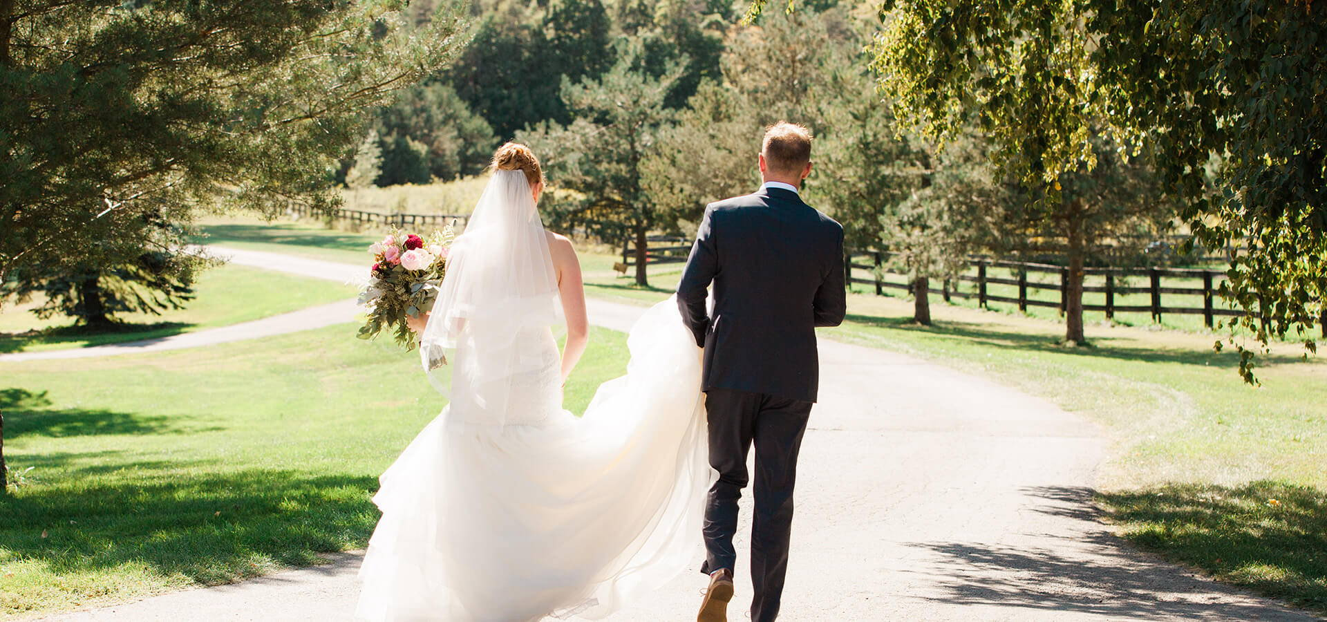 Hero image for Kalie & Jon's Rustic Wedding at Rainbow Valley Wedding Barn