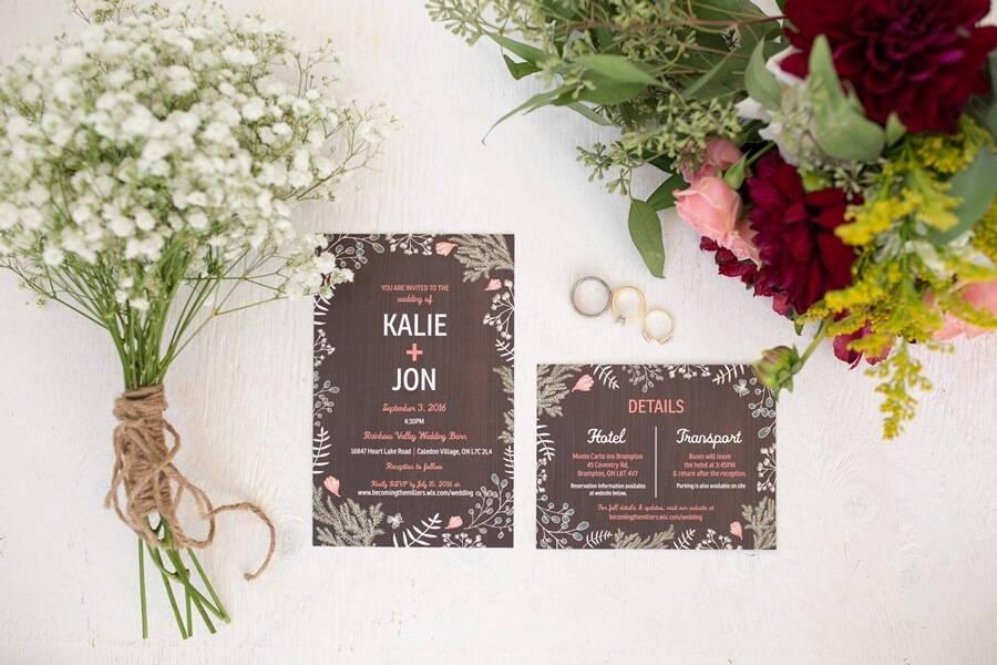 Wedding at Rainbow Valley Wedding Barn, Caledon, Ontario, Haley Photography, 1