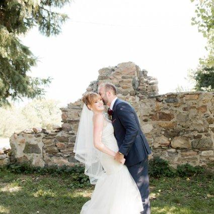Rainbow Valley Wedding Barn featured in Kalie & Jon's Rustic Wedding at Rainbow Valley Wedding Barn