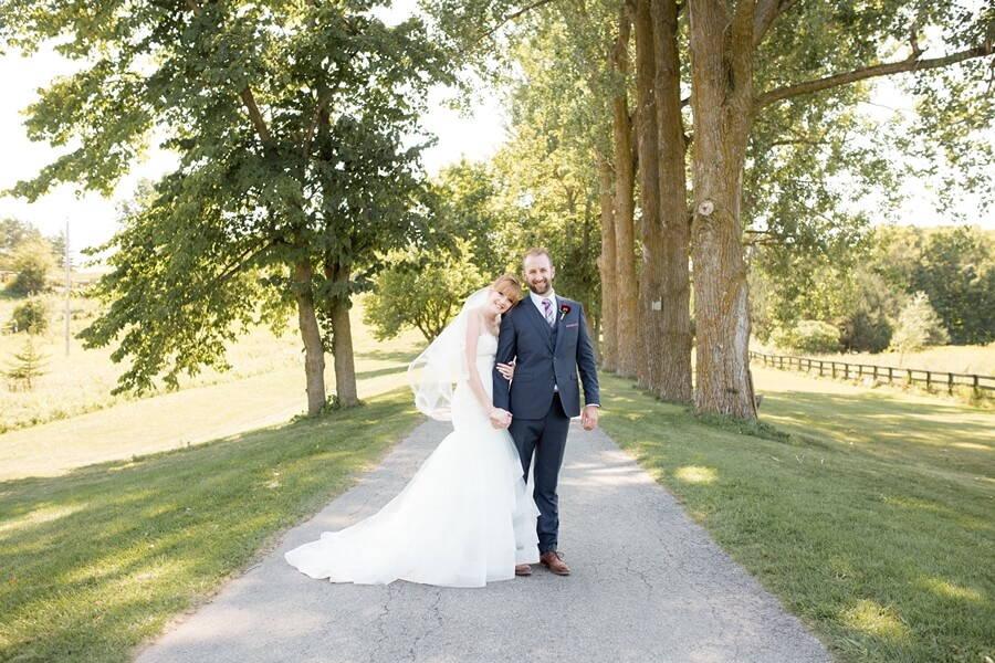 Wedding at Rainbow Valley Wedding Barn, Caledon, Ontario, Haley Photography, 17