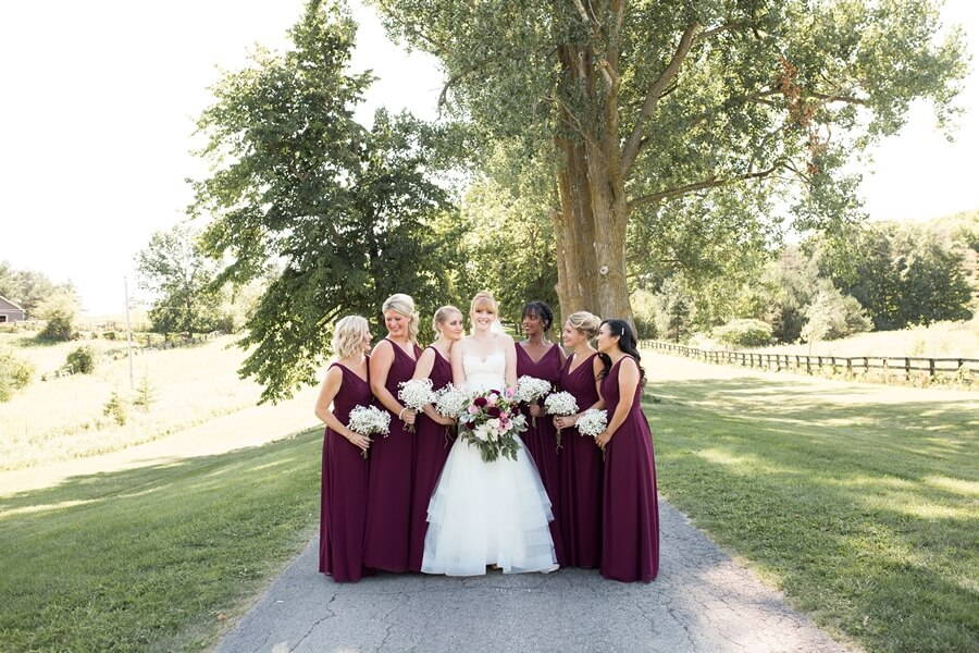 Wedding at Rainbow Valley Wedding Barn, Caledon, Ontario, Haley Photography, 3