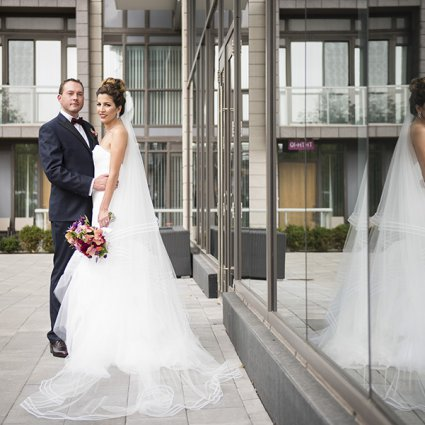 Stemz featured in Sara and George's Enchanting Castle Wedding at Casa Loma