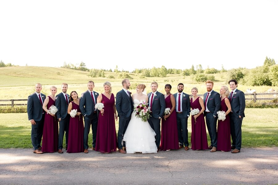 Wedding at Rainbow Valley Wedding Barn, Caledon, Ontario, Haley Photography, 19