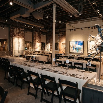 Thompson Landry Gallery featured in Culinary-Art Pop Up with Toben Food by Design
