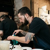 Culinary-Art Pop Up with Toben Food by Design