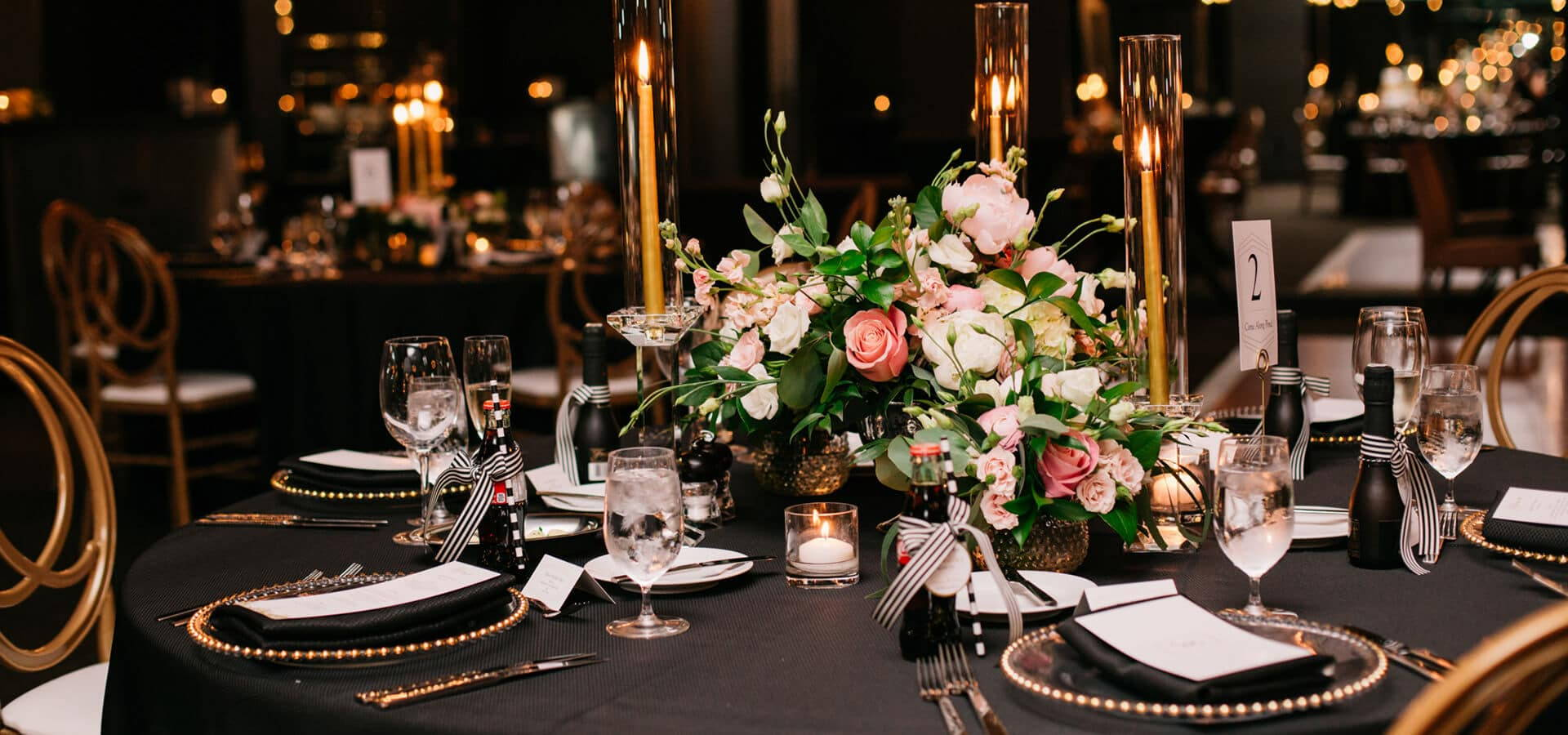 Hero image for Fiona and Andrew's Chic City Wedding at the Thompson Hotel