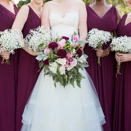 Euphoria Wedding Designs featured in Kalie & Jon's Rustic Wedding at Rainbow Valley Wedding Barn