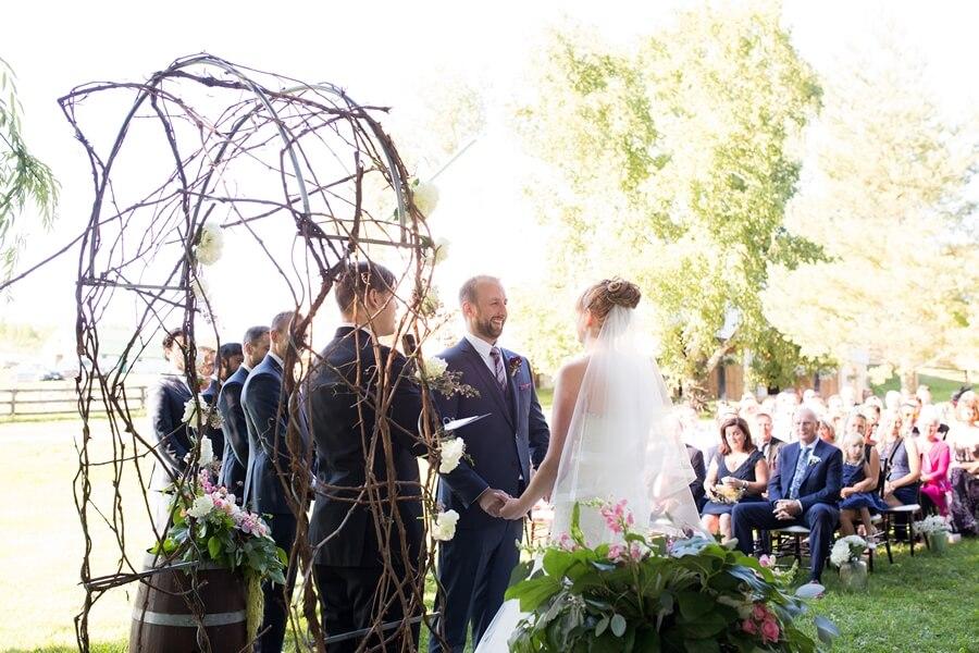 Wedding at Rainbow Valley Wedding Barn, Caledon, Ontario, Haley Photography, 25
