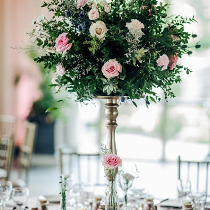 Peachwood Studio featured in Angelina and Victor's Lush Wedding at The Royal Ambassador