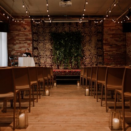 Gladstone Hotel featured in Niki and Dave's Romantic Wedding at The Gladstone Hotel