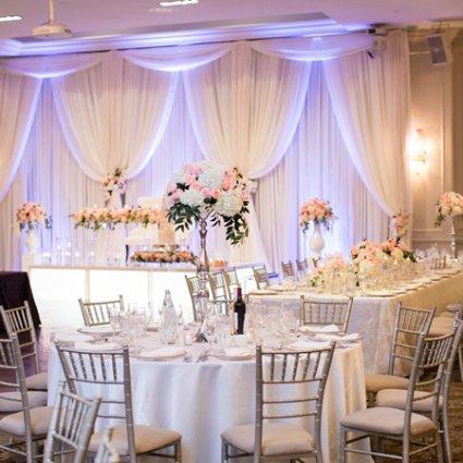 Hazelton Manor featured in Nadine and Greg's Classically Elegant Wedding at Hazelton Manor
