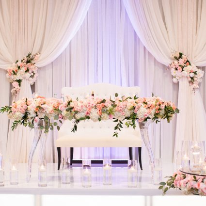 Sweet Regards featured in Nadine and Greg's Classically Elegant Wedding at Hazelton Manor