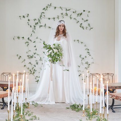 Cool, Green & Shady featured in Wedding Florals: Inspiration from Toronto's Top Florists