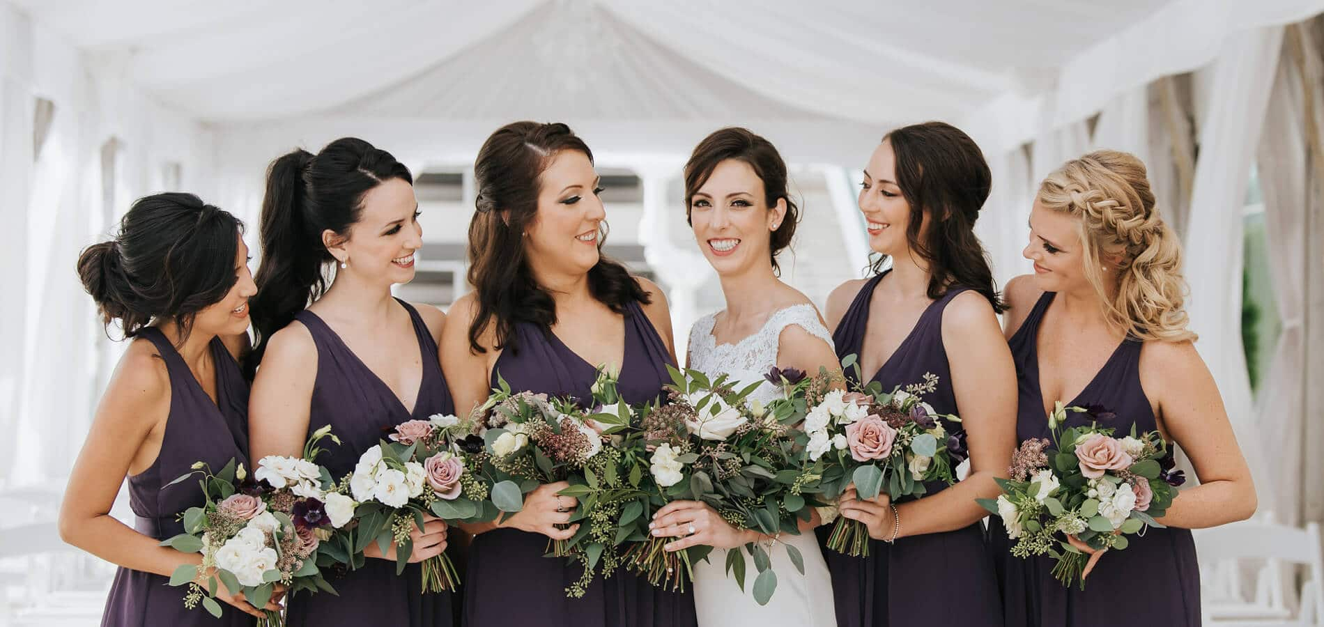 Hero image for Lisa and Jeff's Elegant Rooftop Wedding at Malaparte