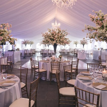 Fable Studios featured in Chelsea and Ari's Ultra Sweet Cottage Wedding