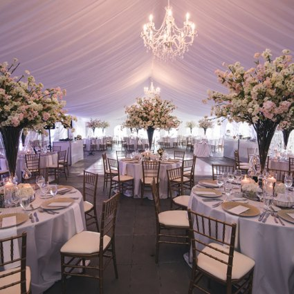 R5 Event Design featured in Chelsea and Ari's Ultra Sweet Cottage Wedding
