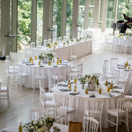 The Royal Conservatory featured in Nadia and Jeff's Garden Wedding at The Royal Conservatory