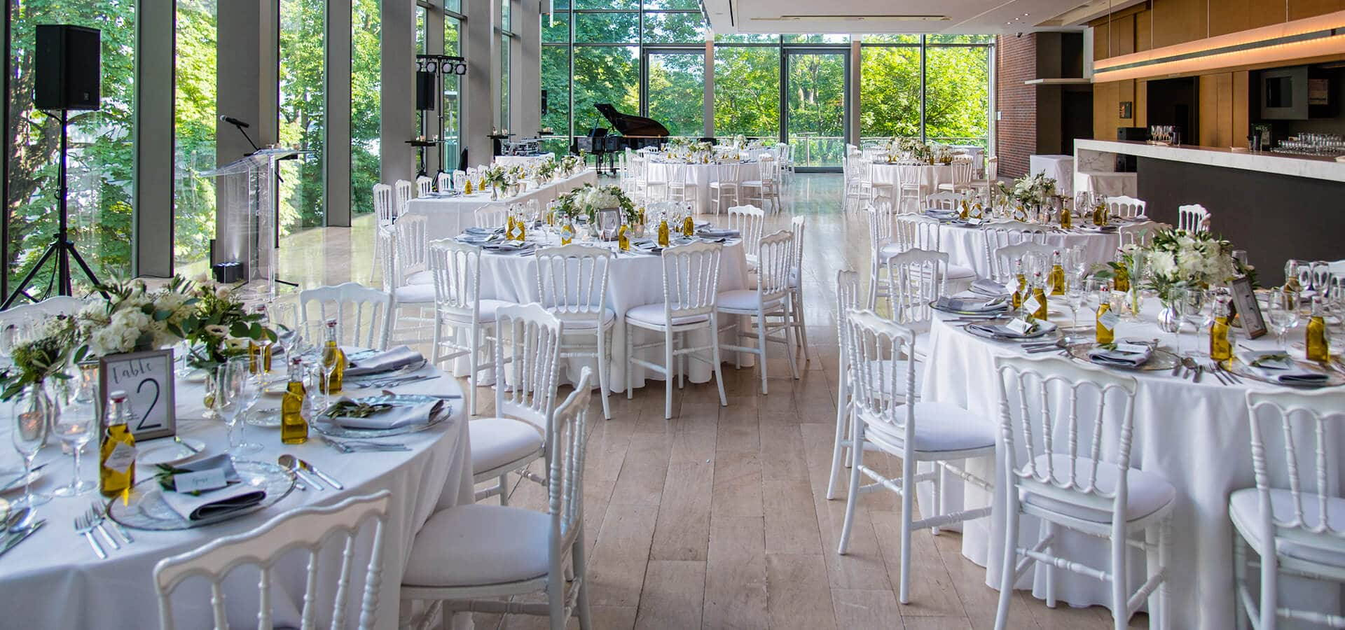Hero image for Nadia and Jeff's Garden Wedding at The Royal Conservatory