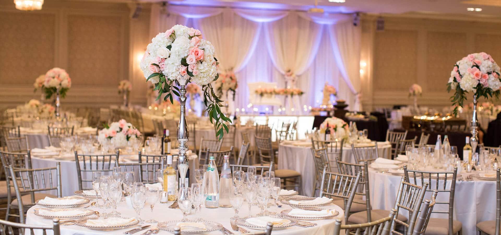 Hero image for Nadine and Greg's Classically Elegant Wedding at Hazelton Manor