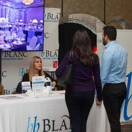 bb Blanc Entertainment featured in The 2018 Wedding Open House at the Mississauga Convention Centre