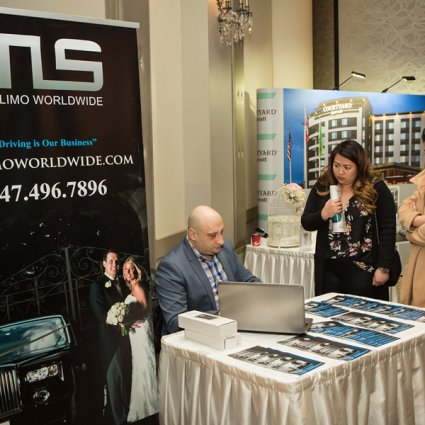 TLS Limo Worldwide featured in The 2018 Wedding Open House at the Mississauga Convention Centre