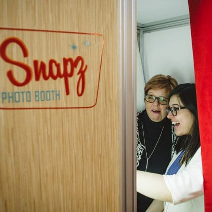 Snapz Photo Booth featured in The 2018 Annual Wedding Open House at Old Mill Toronto
