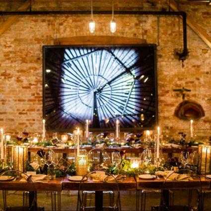 Ashley Pigott Events featured in Deborah and Richard's Intimate Urban Wedding at Archeo