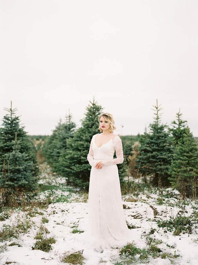vintage inspired winter wonderland, 3