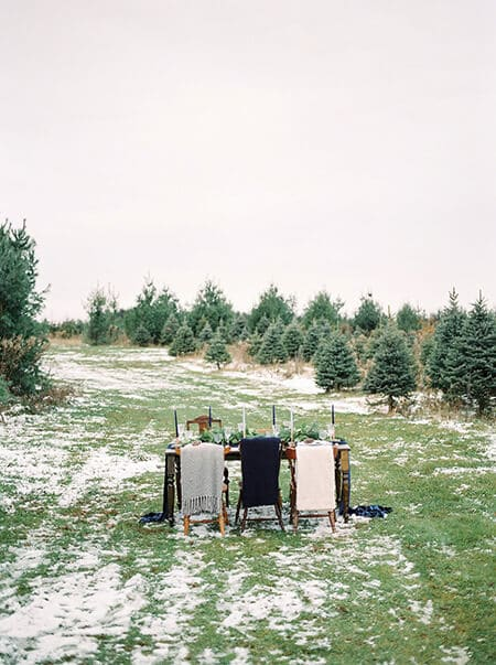 vintage inspired winter wonderland, 16