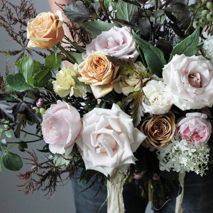 Mint Floral Co. featured in Wedding Florals: Inspiration from Toronto's Top Florists