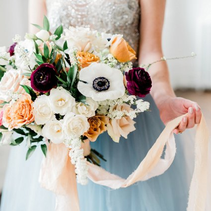 Mum's Garden featured in Wedding Florals: Inspiration from Toronto's Top Florists