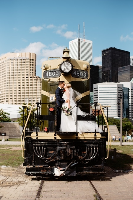 Wedding at Steam Whistle Brewery, Toronto, Ontario, Olive Photography, 23