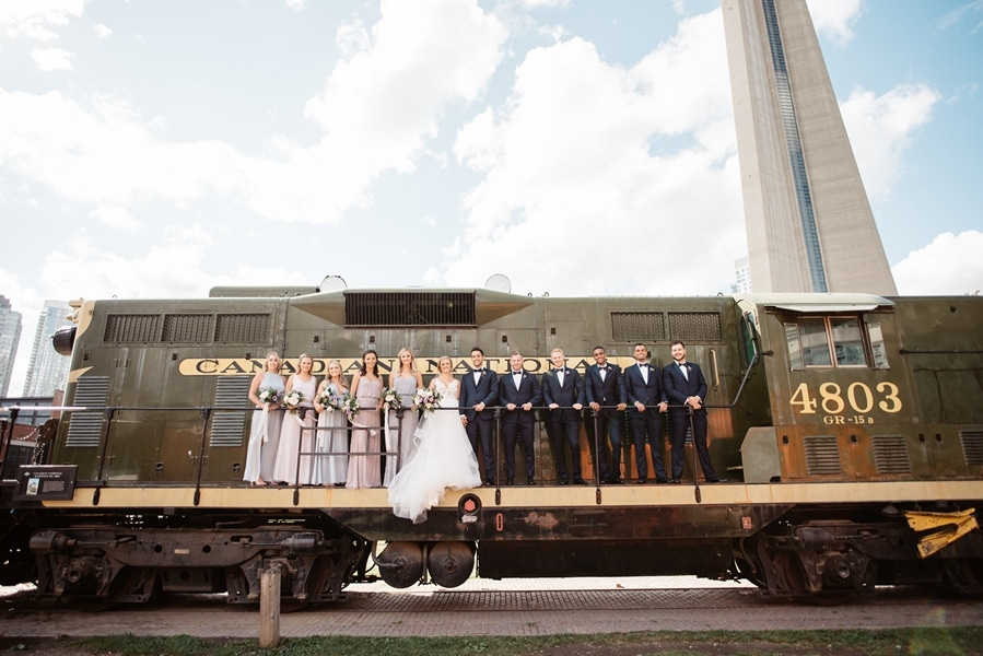 Wedding at Steam Whistle Brewery, Toronto, Ontario, Olive Photography, 24