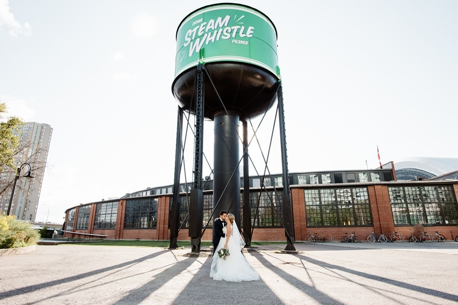 Wedding at Steam Whistle Brewery, Toronto, Ontario, Olive Photography, 27