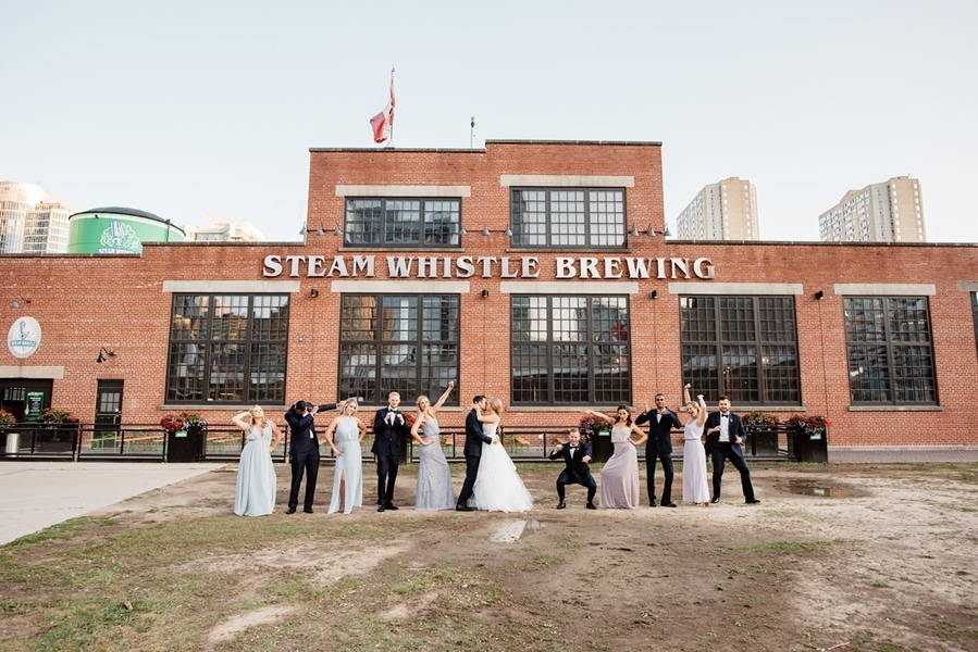 Wedding at Steam Whistle Brewery, Toronto, Ontario, Olive Photography, 28