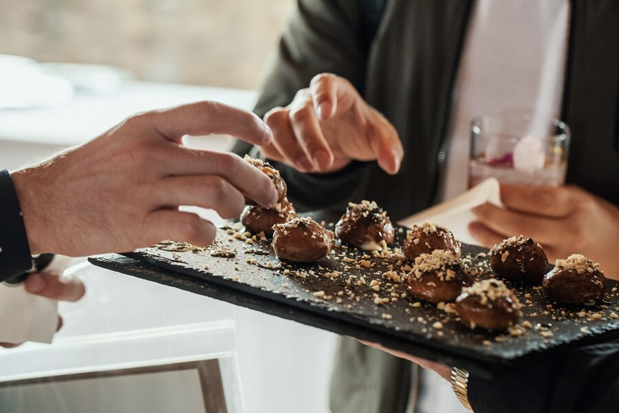 torontos caterers share 2018 catering menu, 18