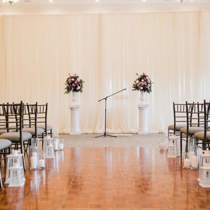 Eagles Nest Golf Club featured in Margaret and Ryan's Charming Winter Wedding at Eagles Nest