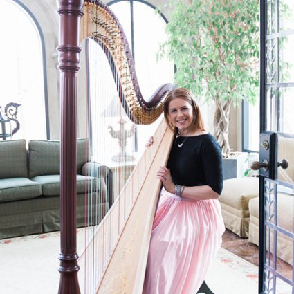 Chantal Dube Harpist featured in The Annual Open House at Estates of Sunnybrook: 2018 Edition