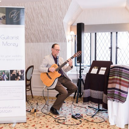 Dunstan Morey Guitarist featured in The Annual Open House at Estates of Sunnybrook: 2018 Edition