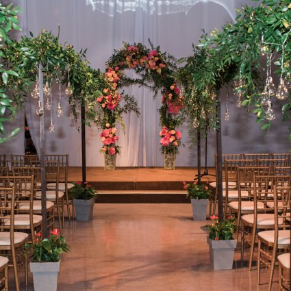 Liberty Grand Entertainment Complex featured in Antoniette and Angelo's Colourful Wedding at Liberty Grand En…