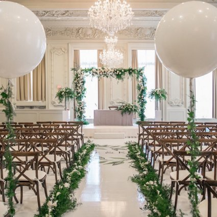 Weddings by Ardenian featured in Wedding Florals: Inspiration from Toronto's Top Florists