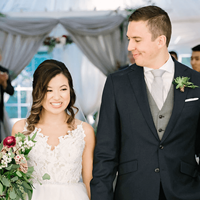Janice and Chris' Intimate Wedding at Hockley Valley Resort